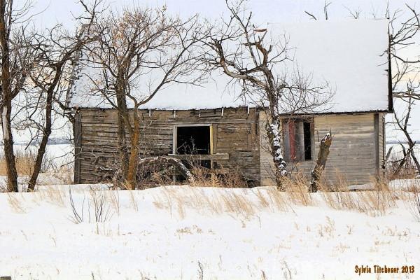 Left Long Ago Rural Alberta #1