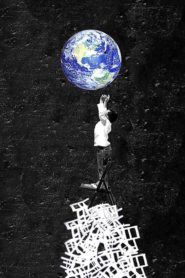 "Photo by Miles Daniel 'Boy Picked Earth"""