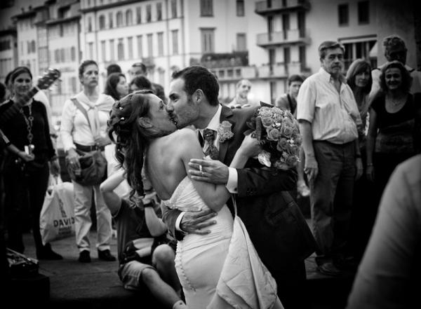 Beijo na Ponte Vecchio