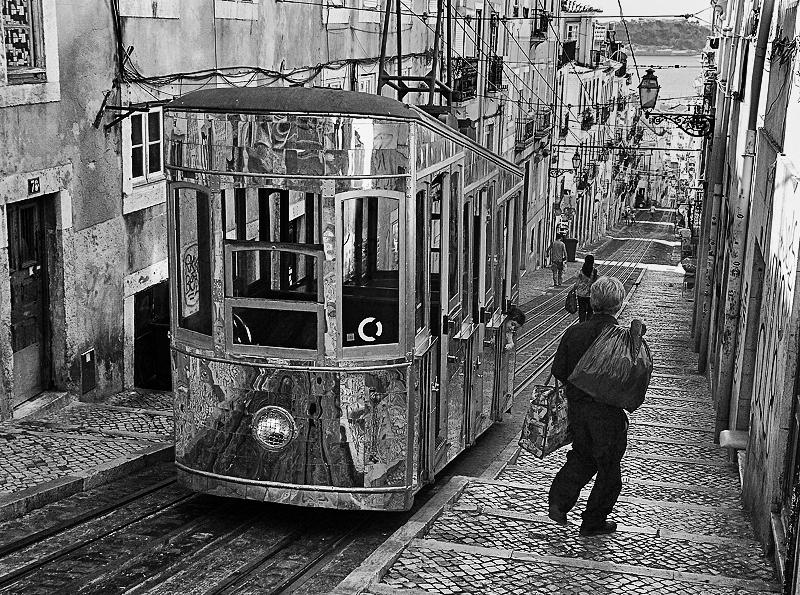 O Elevador da Bica - Bica, Lisboa