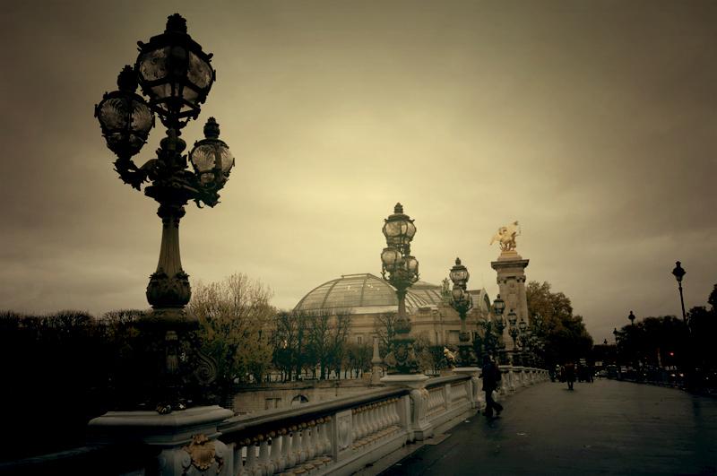 Paris Bridge view.