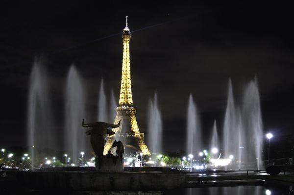Paris, eiffel, trocadero
