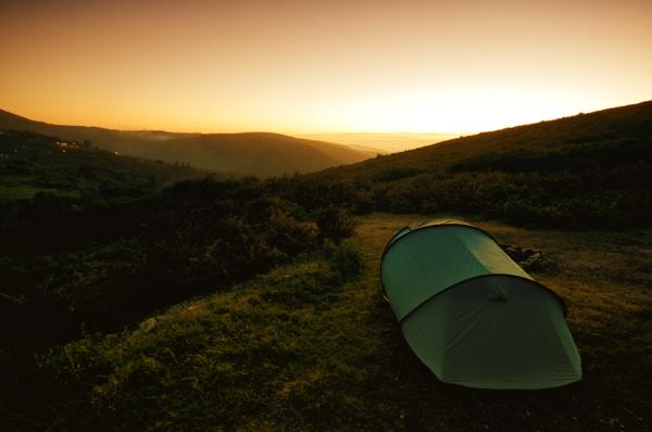 Camping in Serra de Arga