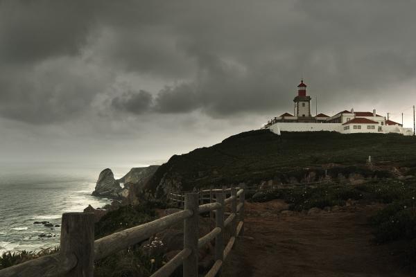 Lighthouse of Cabo da Roca near Sintra, Portugal