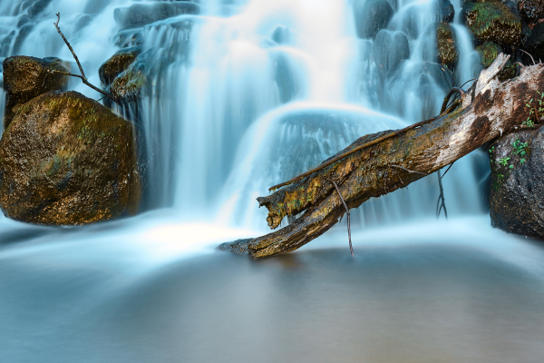 waterfall in Ferreirós do Dão