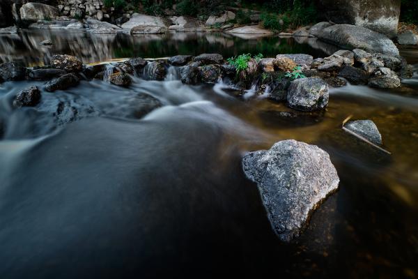 Waterfall at Dão River