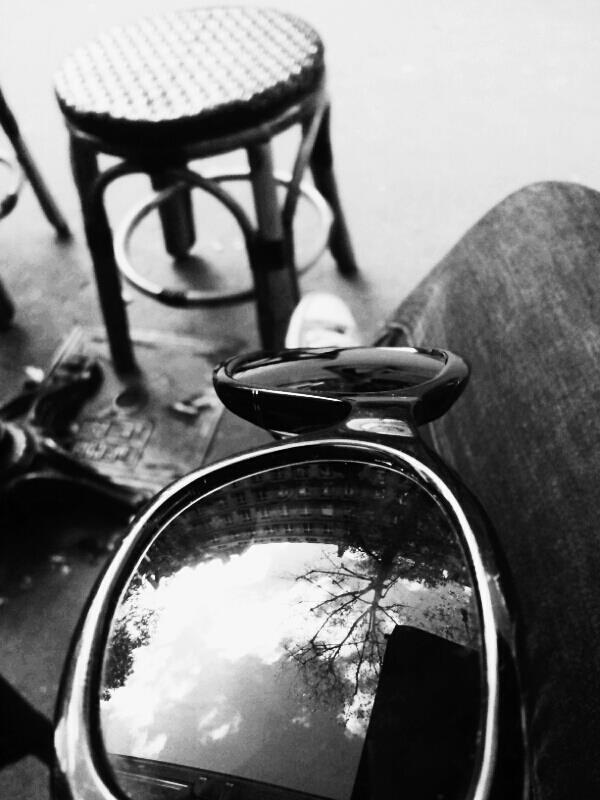 Persol Reflection...(waiting for a job interview)