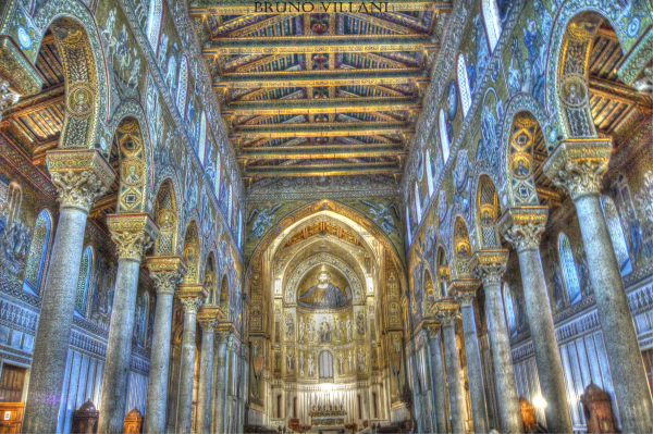 MOnreAle Cathedral Palermo Sicily
