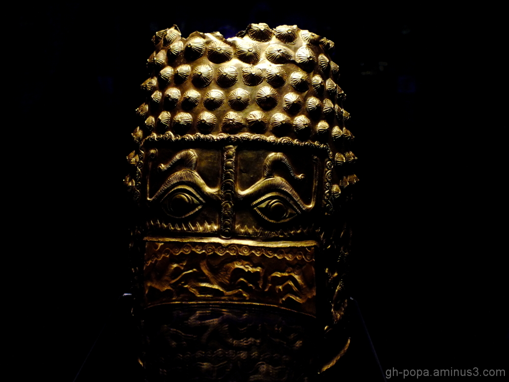 Decebal's helmet