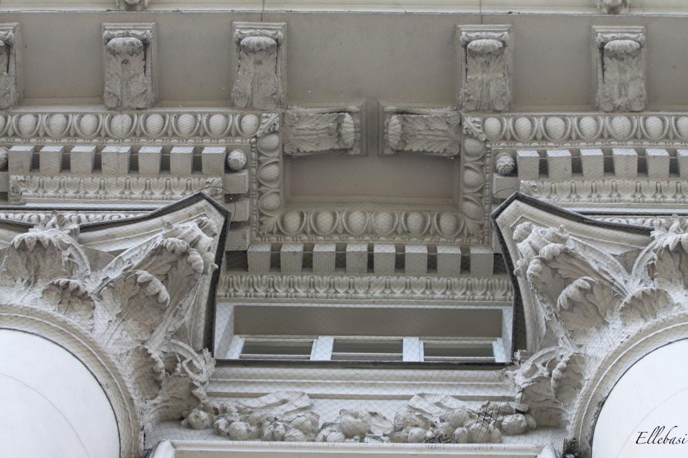architecture, pilier