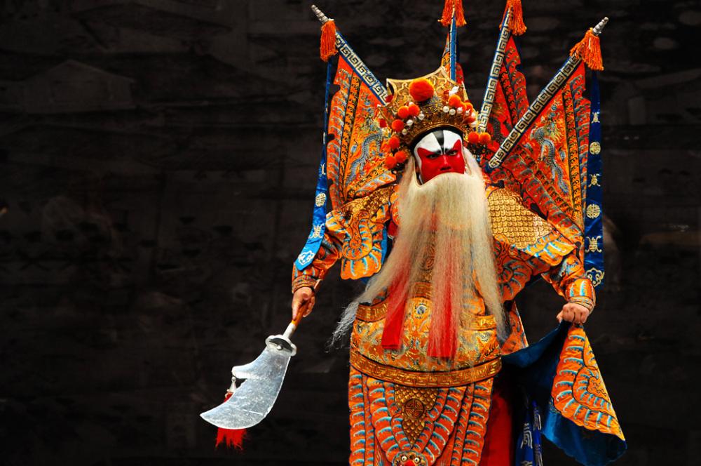 A Warrior in Beijing Opera