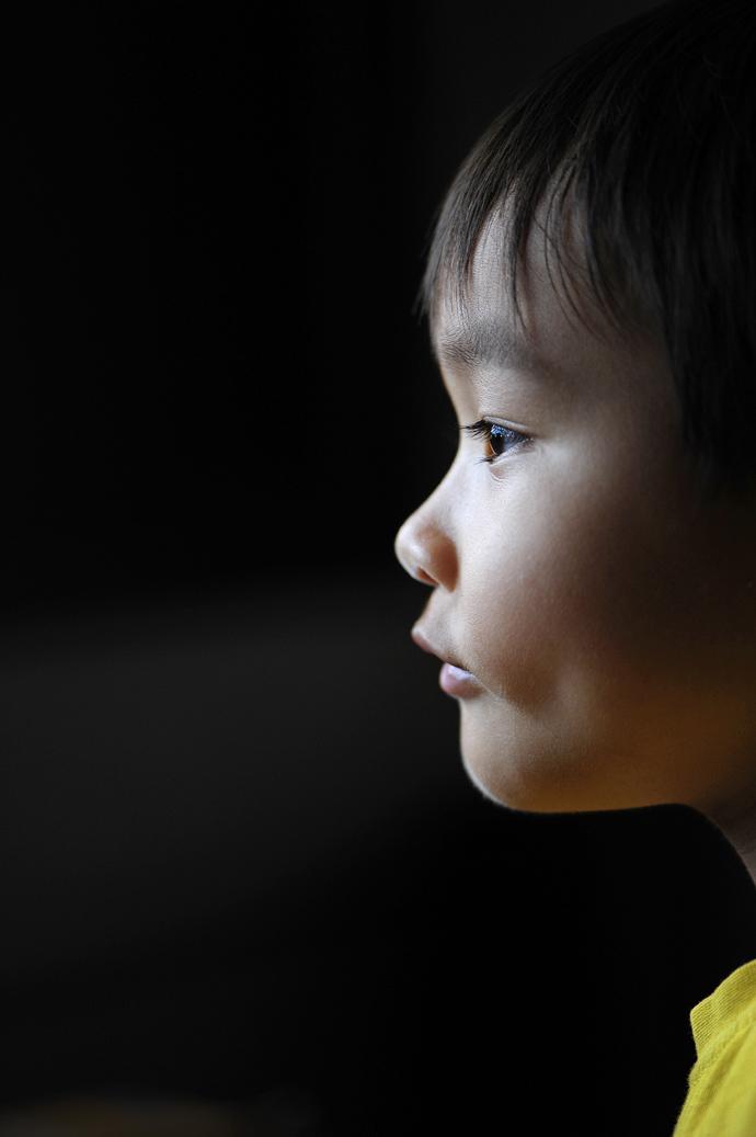 A Boy in Profile
