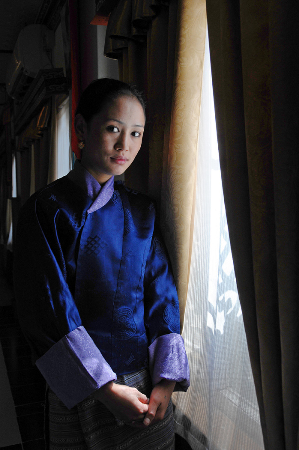 Young Lady of Bhutan