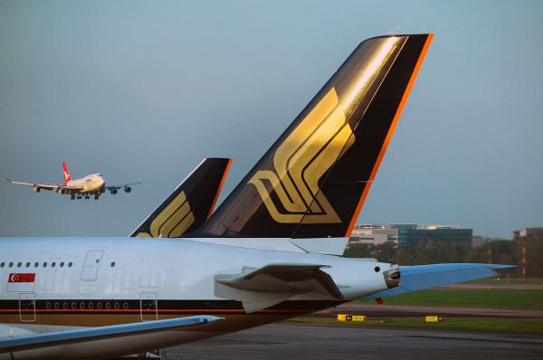 At Changi Airport (Singapore)