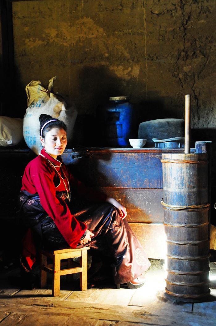 In a Tibetan Home