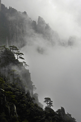 Huangshan   View from Parting Clouds Pavilion