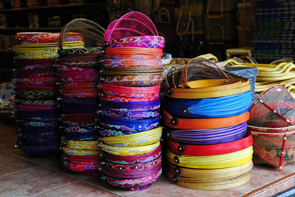 baskets, colour