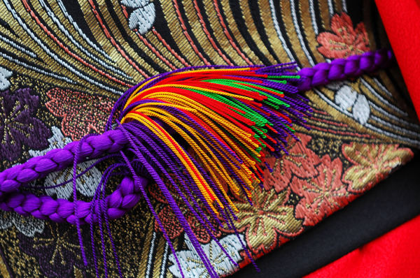 obi kimono colour fabric