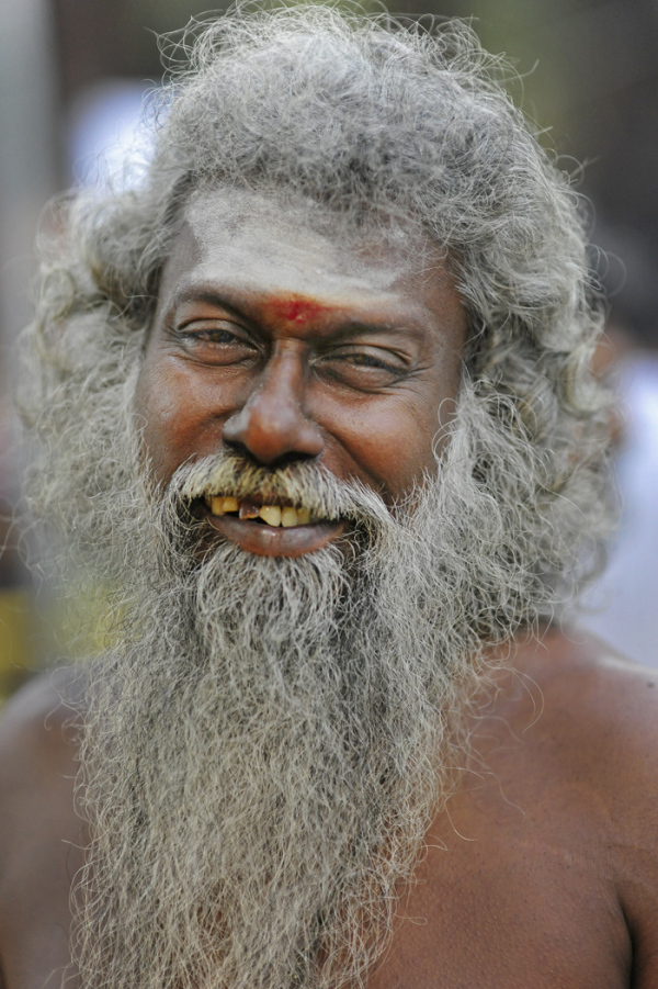 religion Hindu holy man portrait beard