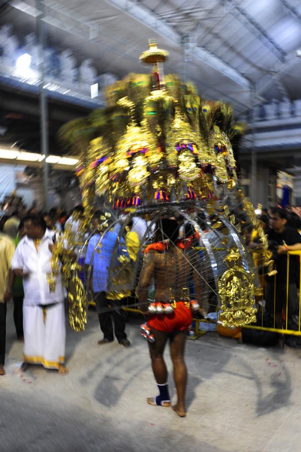 Thaipusam kavadi procession