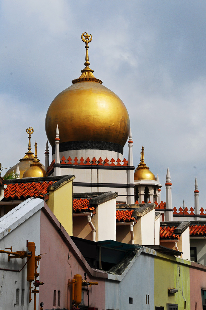 Dome of Sultan Mosque, Singapore