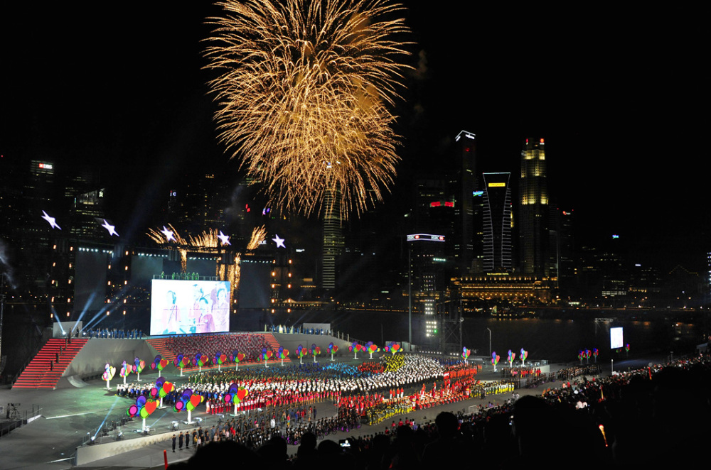 National Day Parade Finale
