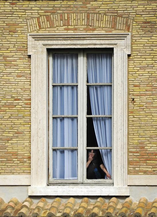 Window - Vatican Museum, Rome