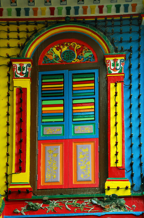 A Colourful Window