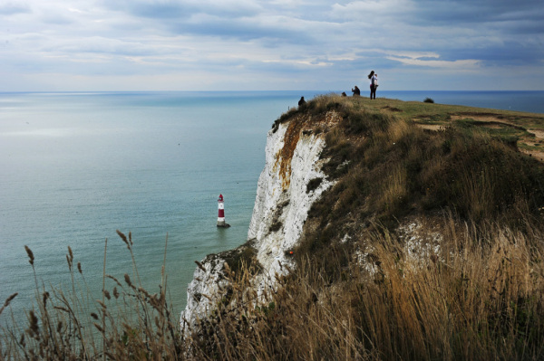 Cliff at Beachy Head, Sussex