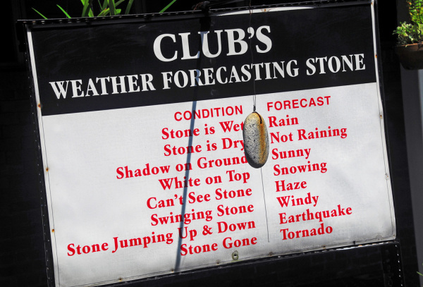 Stone Age Weather Forecast Instrument