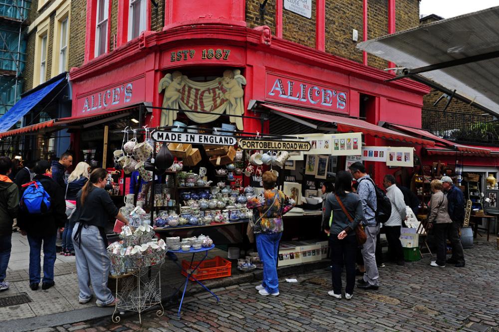 Alice's at Portobello Road