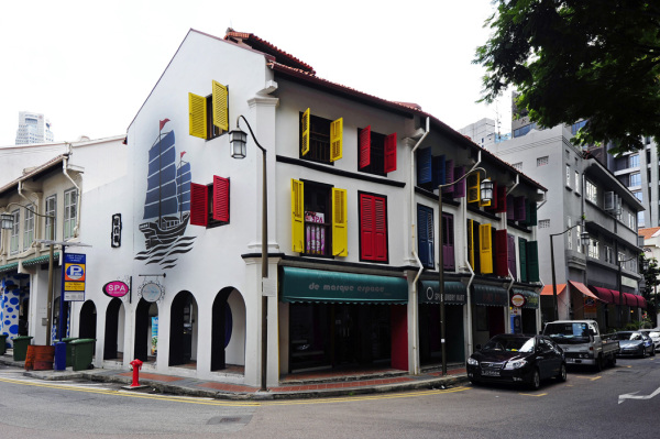 House in Telok Ayer Street, Singapore
