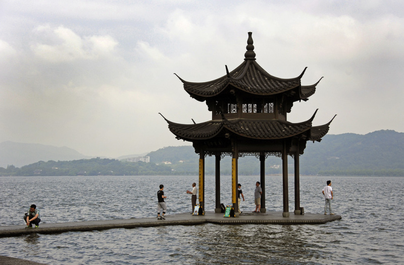 Pavilion on West Lake