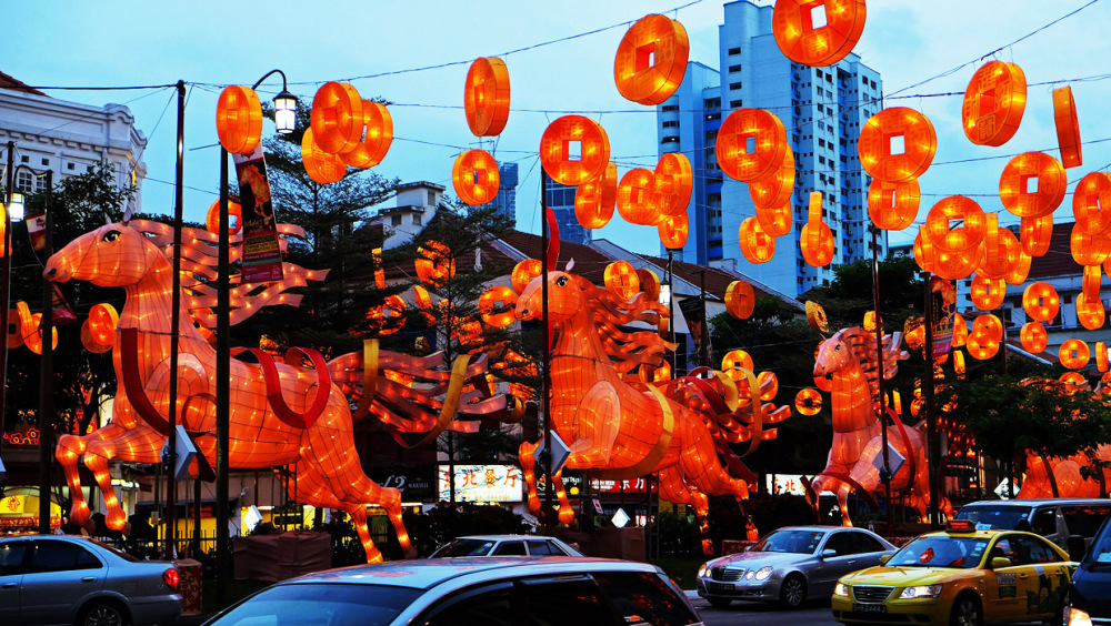 Chinatown New Year Decorations