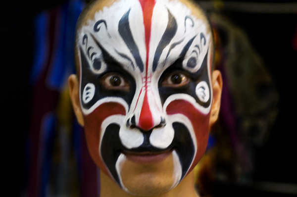 Facial Painting in Beijing Opera