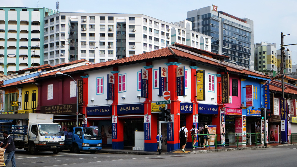 Street Corner - Little India, Singapore