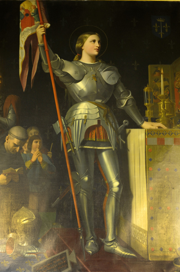 Joan of Arc - a Painting in Orleans