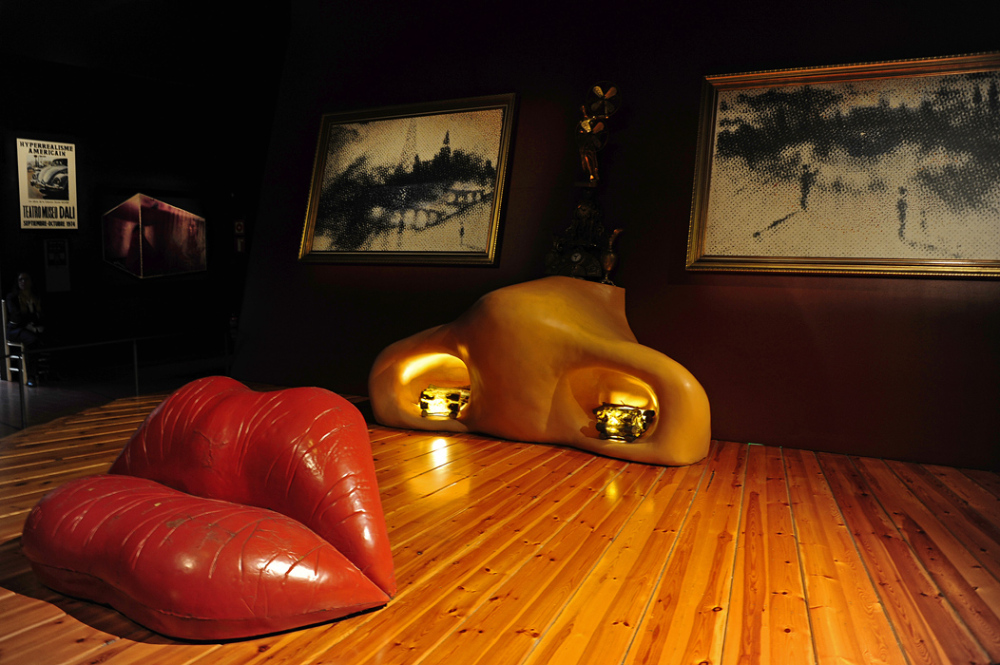 The Mae West Room - Salvador Dali Museum