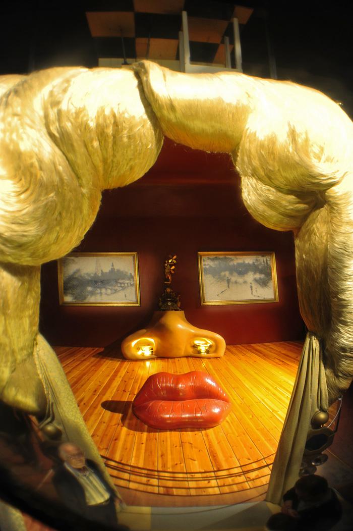 Mae West by Salvador Dali
