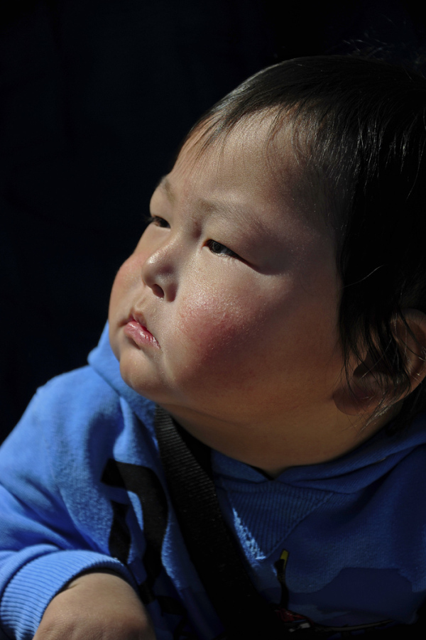 A Mongolian Boy in France