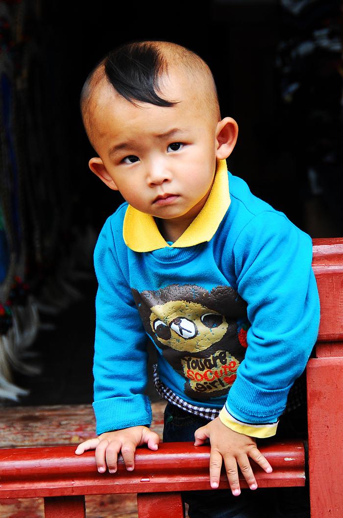 A Boy in Lijiang