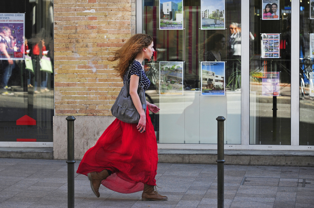 Girl in a Hurry