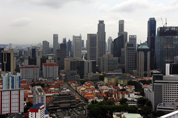 China Town & the Central Business District - Singa