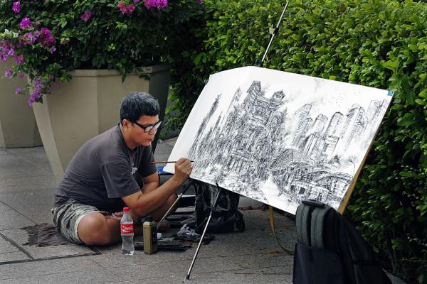 Painting Singapore