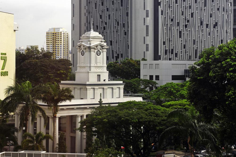 Clock Tower at Singapore General Hospital