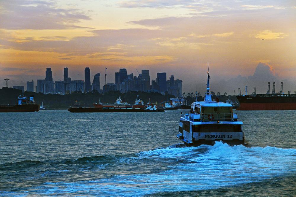 Departure at Dawn