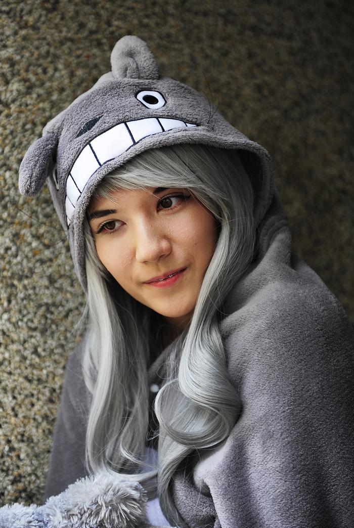 Girl in Grey