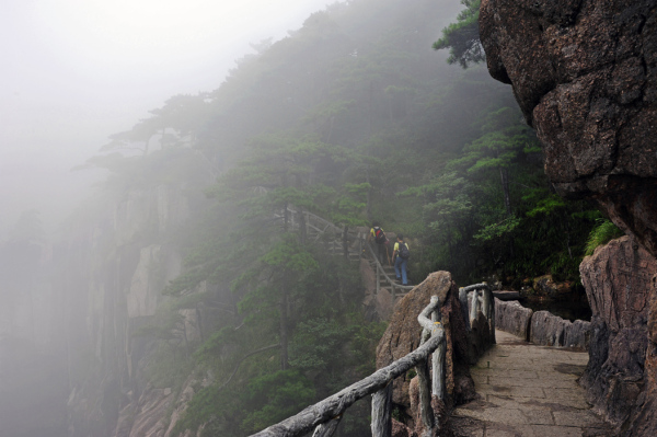 Going into Mist - Huangshan