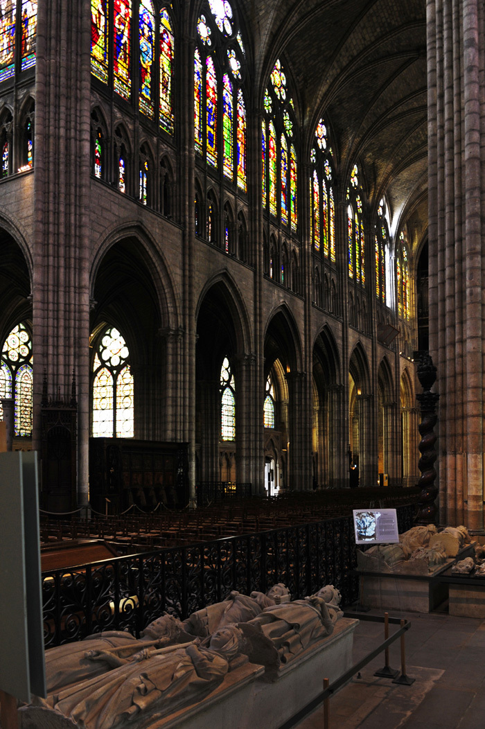 Stained Glass - Basilica Cathedral of Saint Denis