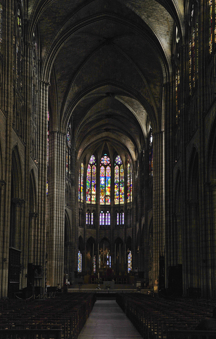 Stained Glass - St Denis Cathedral, Paris